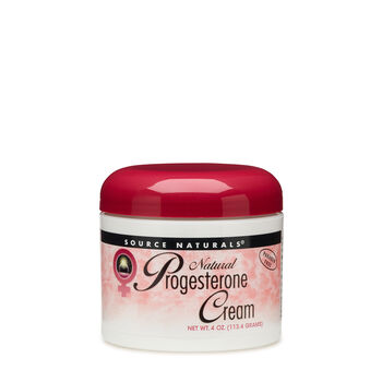 Natural Progesterone Cream | GNC