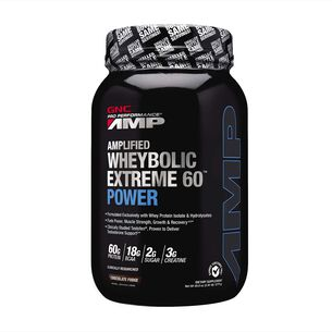 Amplified Wheybolic Extreme 60™ Power - Chocolate Fudge | GNC