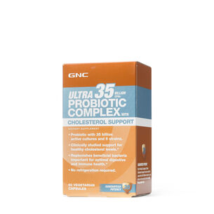 Ultra Probiotic Complex 35 BILLION CFUs with Cholesterol Support | GNC