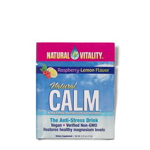 Natural Calm - Raspberry-Lemon PacketsRaspberry-Lemon | GNC