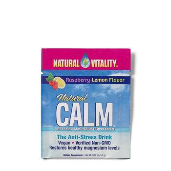 Natural Calm - Raspberry-Lemon Packets | GNC