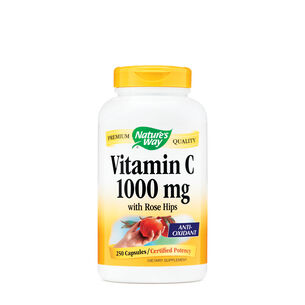Vitamin C 1000 mg - with Rose Hips | GNC