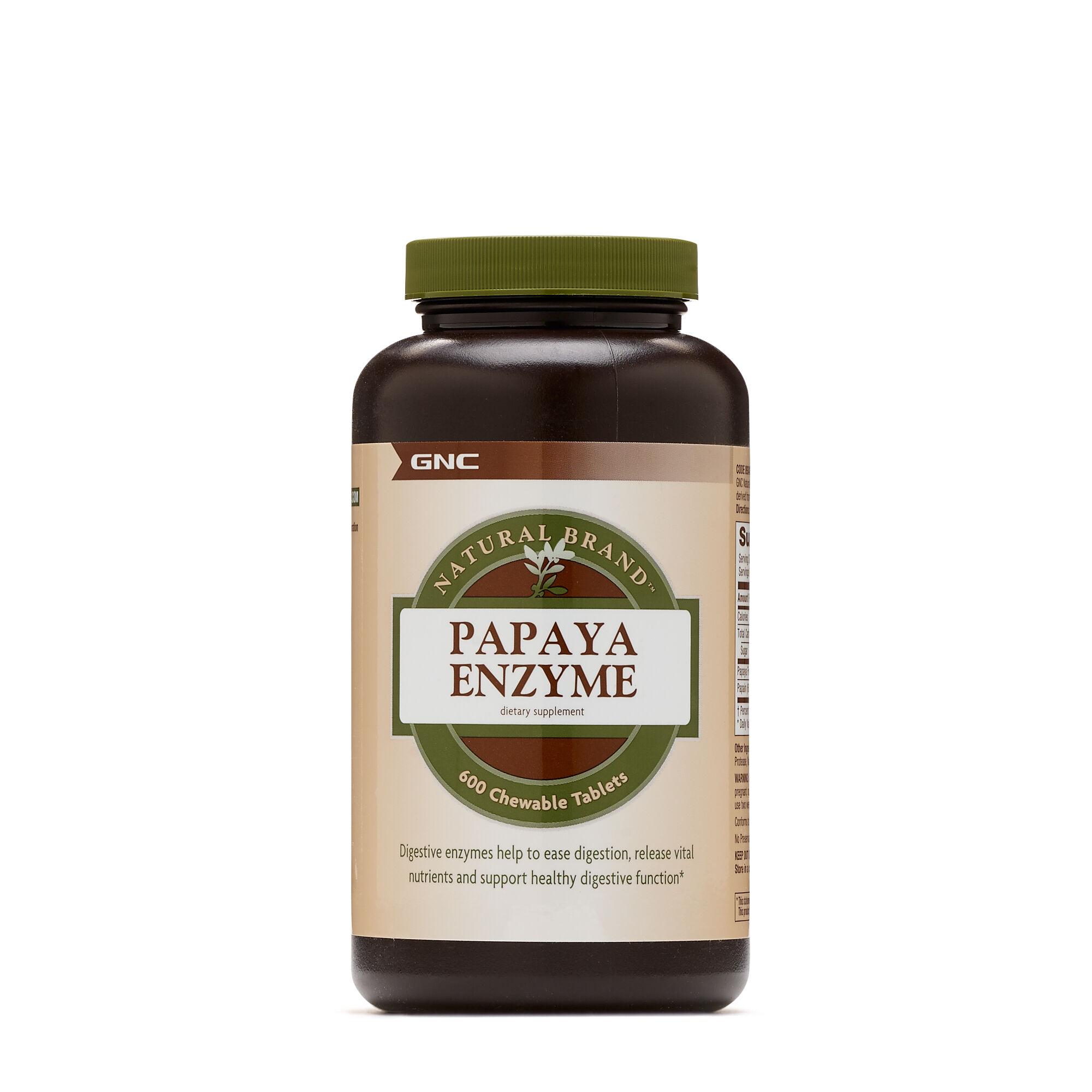 Images papaya enzyme gnc