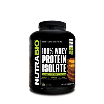 100% Whey Protein Isolate - Chocolate Peanut ButterChocolate Peanut Butter | GNC