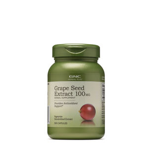 GNC Herbal Plus Grape Seed Extract 100MG