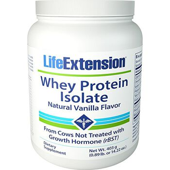 Whey Protein Isolate - Natural Vanilla Flavor | GNC