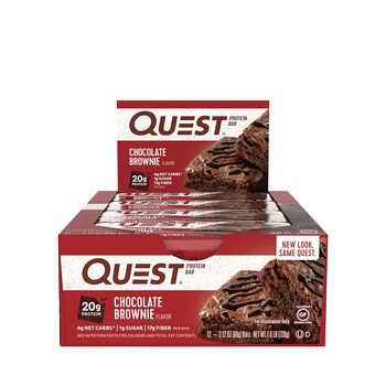 Quest Bar – Chocolate BrownieChocolate Brownie | GNC