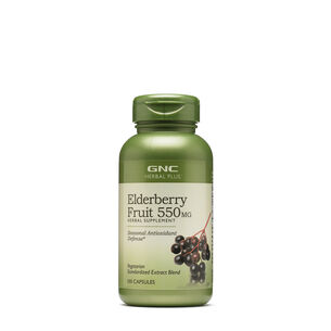 Elderberry Fruit 550 mg | GNC