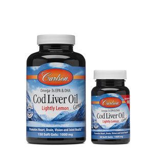 Cod Liver Oil Gems™ - Lightly Lemon | GNC