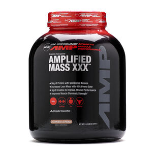 Amplified Mass XXX™ - Cookies and CreamCookies and Cream   GNC
