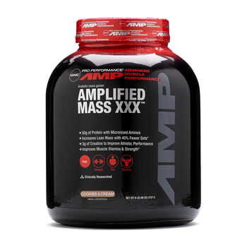 Amplified Mass XXX™ - Cookies and CreamCookies and Cream | GNC
