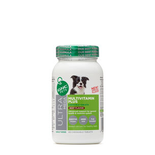 Ultra Mega Multivitamin Plus - Adult Dogs - Beef Flavor | GNC