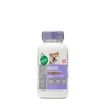 Ultra Mega Calming Formula - All Dogs - Beef Flavor | GNC
