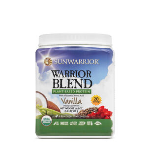 Warrior Blend Raw Vegan Protein - VanillaVanilla | GNC