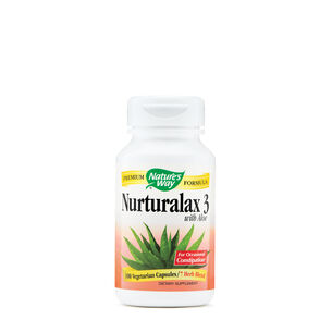 Nurturalax 3 with Aloe | GNC