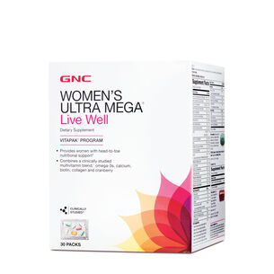 Ultra Mega® Live Well Vitapak® Program | GNC
