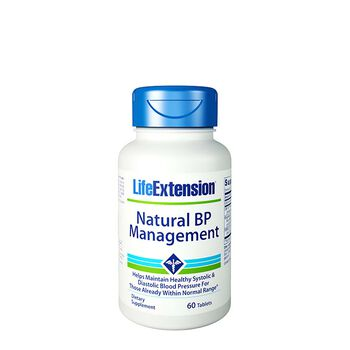Natural BP Management | GNC