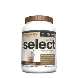 Cafe Series select PROTEIN - Vanilla FrappeVanilla Frappe | GNC