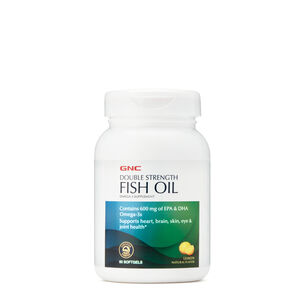 Double Strength Fish Oil - Lemon | GNC