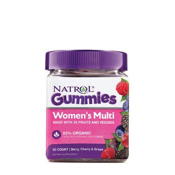 Women's Multi Gummies - Berry, Cherry and Grape | GNC