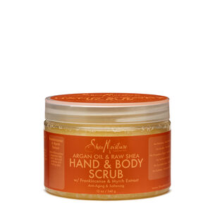 Argan Oil & Raw Shea Softening Hand & Body Scrub | GNC