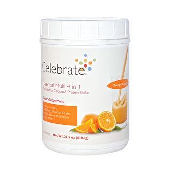 Essential Multi 4 in 1 Multivitamin, Calcium and Protein Shake - Orange CreamOrange Cream | GNC