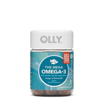 The Mega Omega-3 - Sweet Clementine | GNC