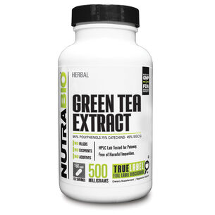 GNC NutraBio Green Tea Extract - 500 mg