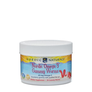 Nordic Omega-3 Gummy Worms 68 mg | GNC