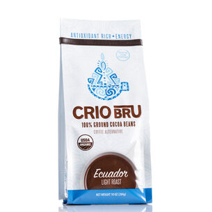 100% Ground Cocoa Beans - Ecuador Light Roast | GNC