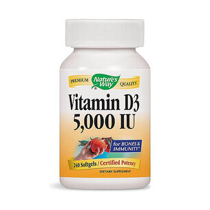 GNC Nature's Way Vitamin D3 5,000 IU