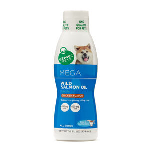 Mega Wild Salmon Oil for All Dogs | GNC