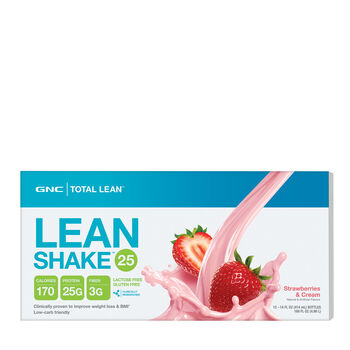 Lean Shake™ - Strawberries & CreamStrawberries and Cream | GNC