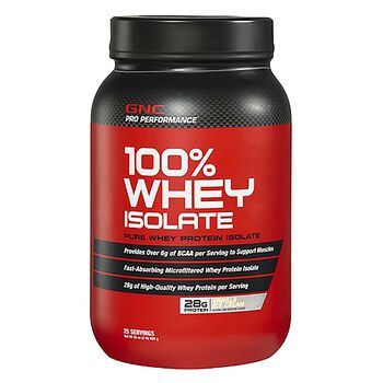 100% Whey Isolate - Vanilla Ice CreamVanilla Ice Cream | GNC