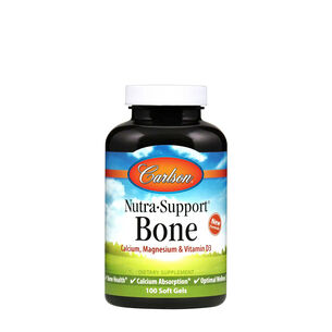 Nutra Support Bone - Calcium & Magnesium with Vitamins D3 and K2 | GNC