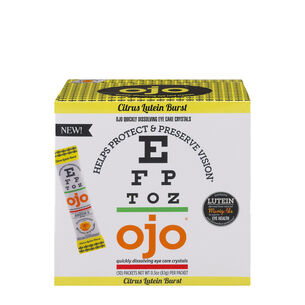 Quickly Dissolving Eye Care Crystals - Citrus Lutein Burst | GNC