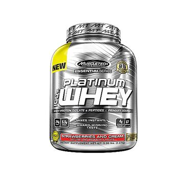 PLATINUM 100% WHEY - Strawberries and CreamStrawberries and Cream | GNC