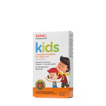Kids Chewable Probiotic For Kids 4-12 | GNC
