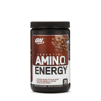 Essential AMIN.O Energy™ - Iced Mocha Cappuccino FlavorIced Mocha Cappuccino | GNC