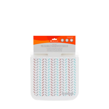 Ziptuck Reusable Sandwich Bags - Chevron | GNC