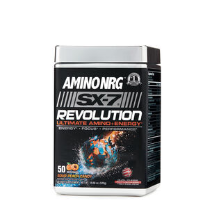 Amino NRG™ SX-7 Revolution Ultimate Amino+Energy - Sour Peach CandySour Peach Candy | GNC