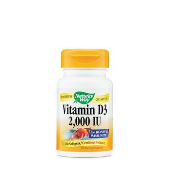 Vitamin D3 - 2,000 IU   GNC