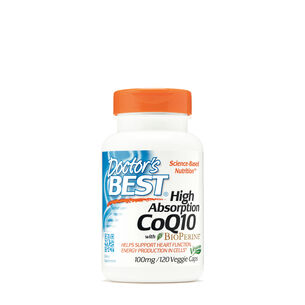 High Absoprtion CoQ10 with BioPerine® 100 mg | GNC