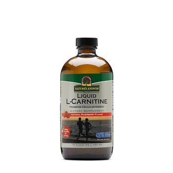 Liquid L-Carnitine - Natural Raspberry Flavor | GNC