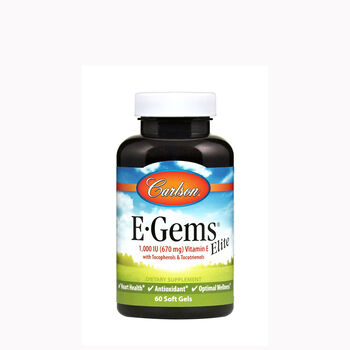 E-Gems® Elite Natural Vitamin E - 1000 IU | GNC