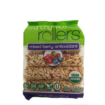 Crunchy Rice Rollers™ - Mixed Berry AntioxidantMixed Berry Antioxidant | GNC