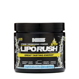 LipoRUSH® XTP - Berry Blue Snow ConeBerry Blue Snow Cone | GNC