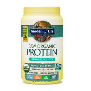 raw Organic Protein- UnflavoredUnflavored | GNC