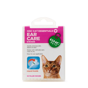 Cat Essentials Ear Care Swabs | GNC