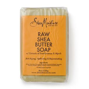 Raw Shea Butter Soap with Extracts from Frankincense & Myrrh | GNC